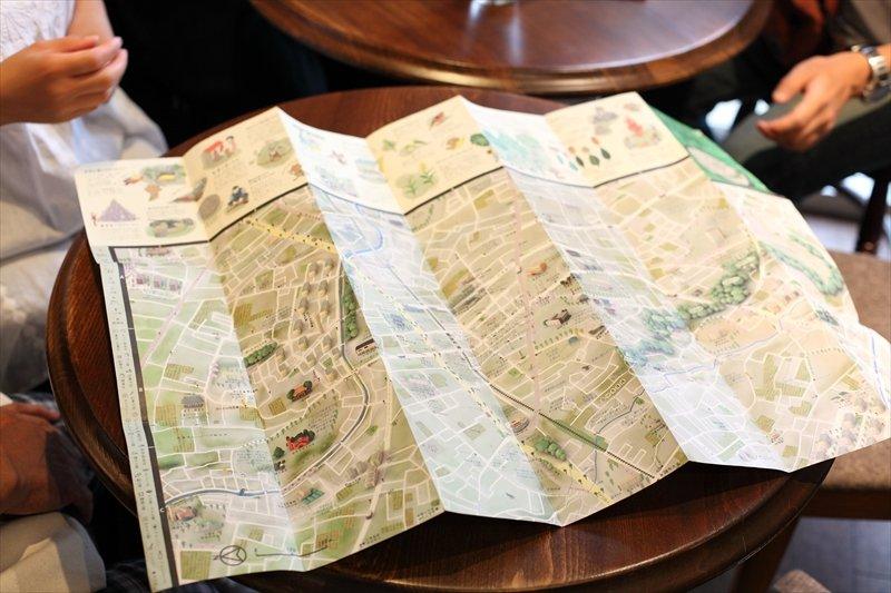 最新版の「せんがわ地図」
