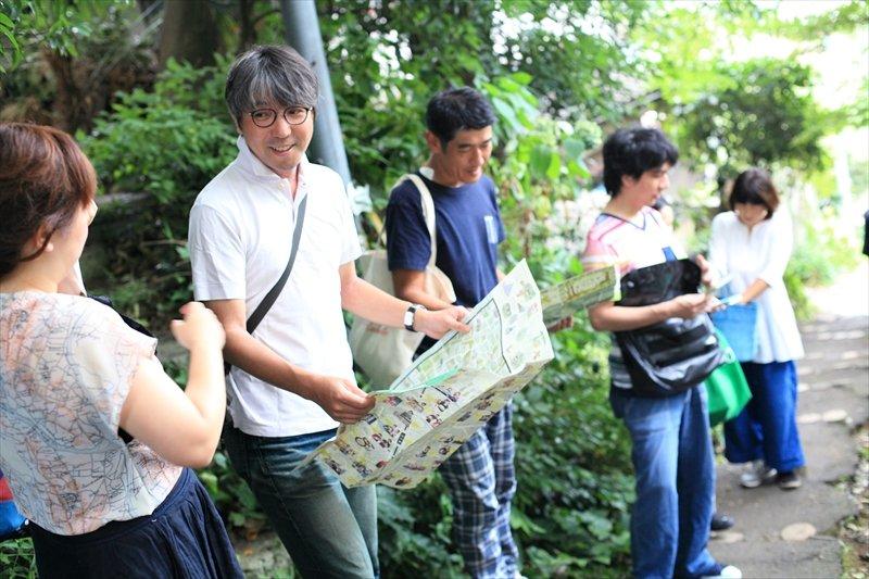地図を見たりまち歩きをするたびに視点が広がり新たな発見が