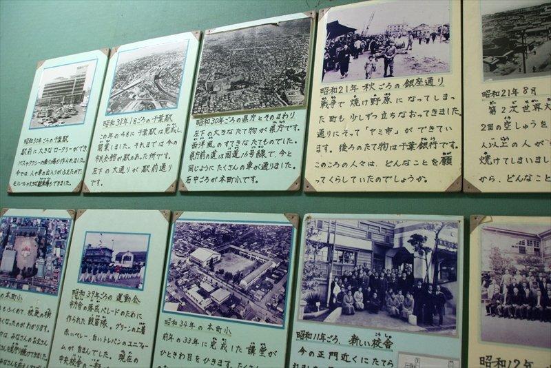 郷土資料館の展示物