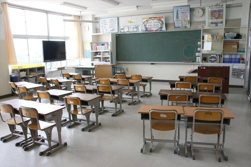 整った教室の様子