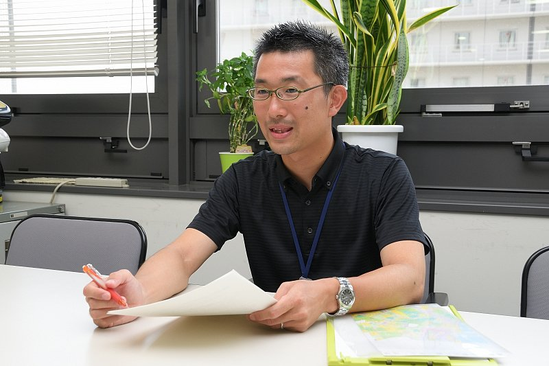 「堺市 市長公室 ニュータウン地域再生室」主査の田辺さん