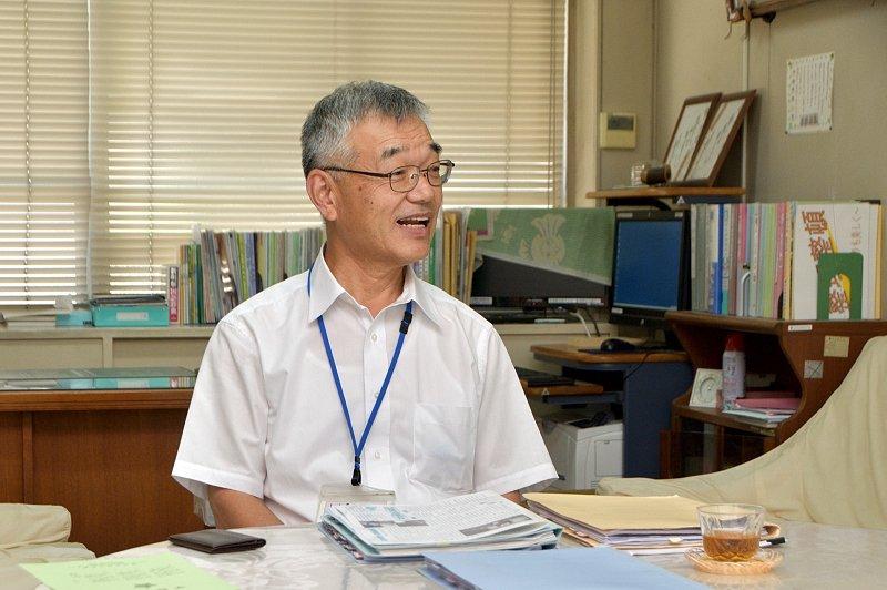 堺市立市小学校校長 山本先生