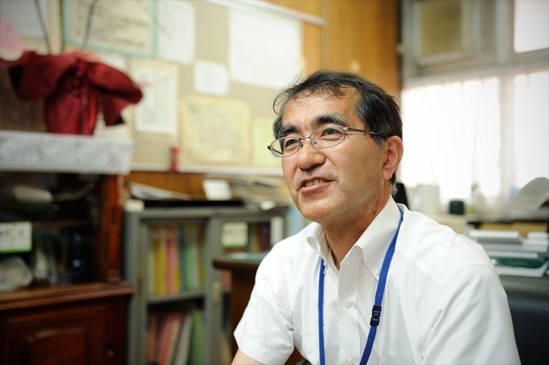 校長 境野宏樹先生