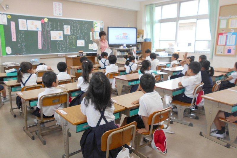 道徳の授業の様子