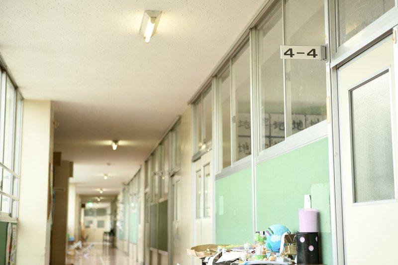 朝霞市立朝霞第八小学校 廊下