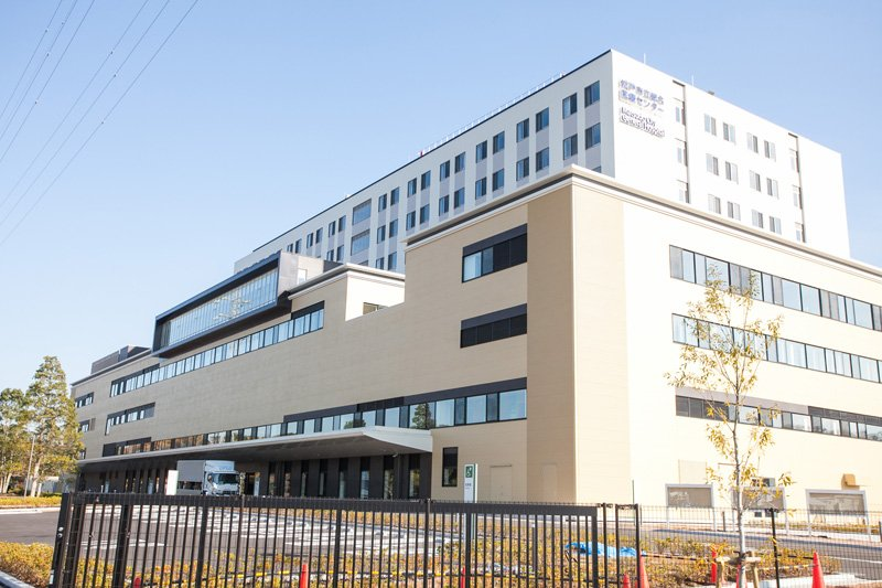 「夜間小児急病センター」の入る「松戸市立総合医療センター」