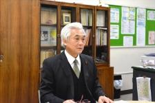 「習志野市立第五中学校」校長 小松﨑修男さん