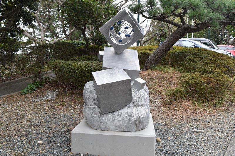ノーベル物理学賞の天野浩氏の記念モニュメント