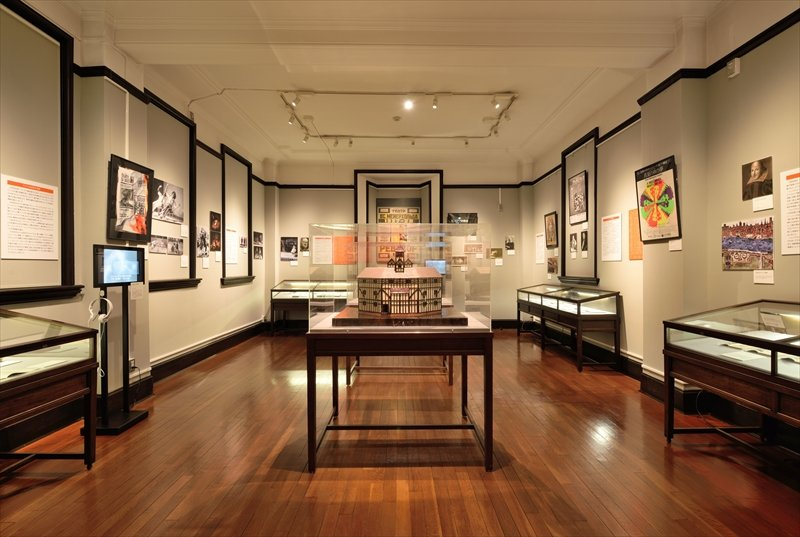 3階常設展示室「世界の演劇 ヨーロッパ・アメリカ」