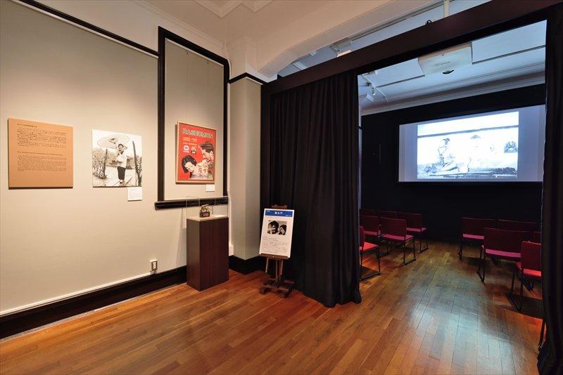 京マチ子記念特別展示室