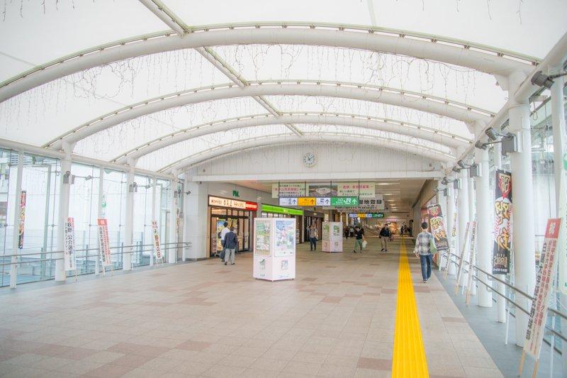 中央自由通路(さくら道)