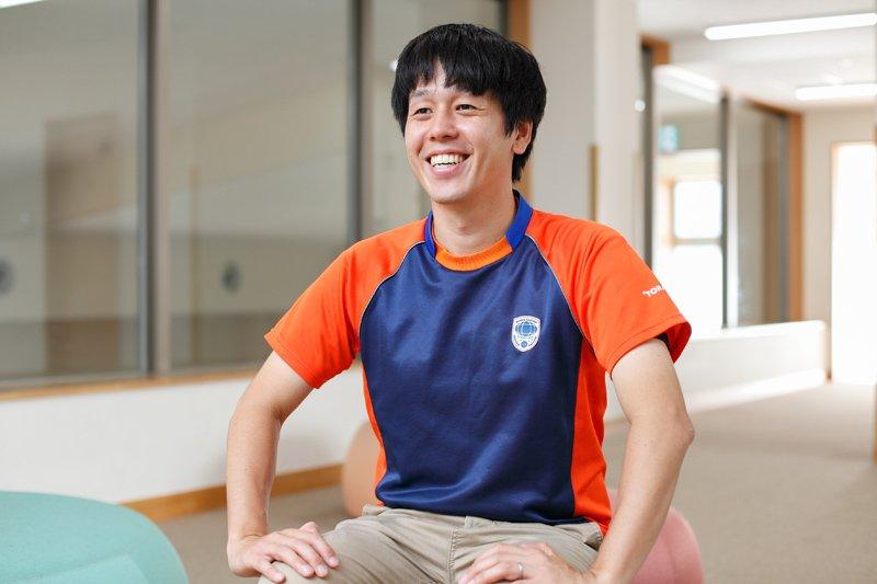 施設長の大澤太一さん