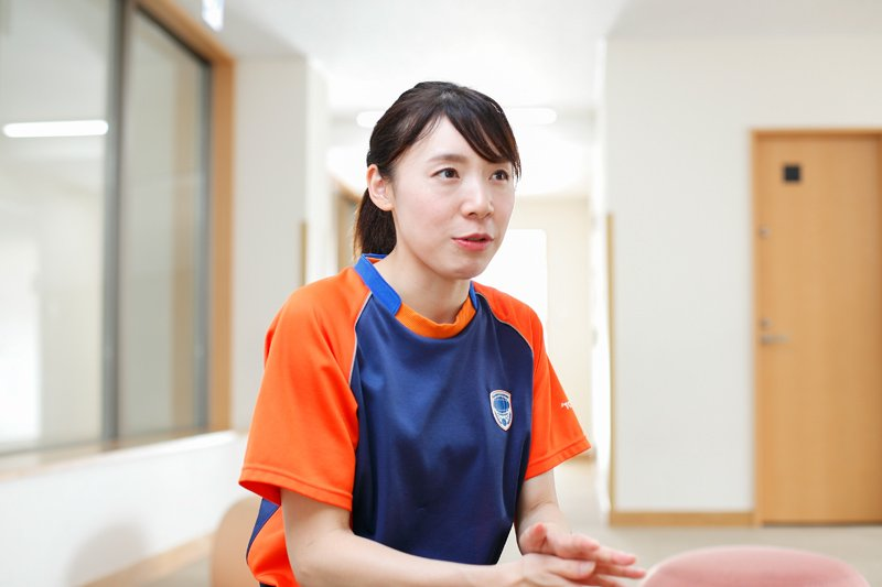 事務・経理の松本寿子さん
