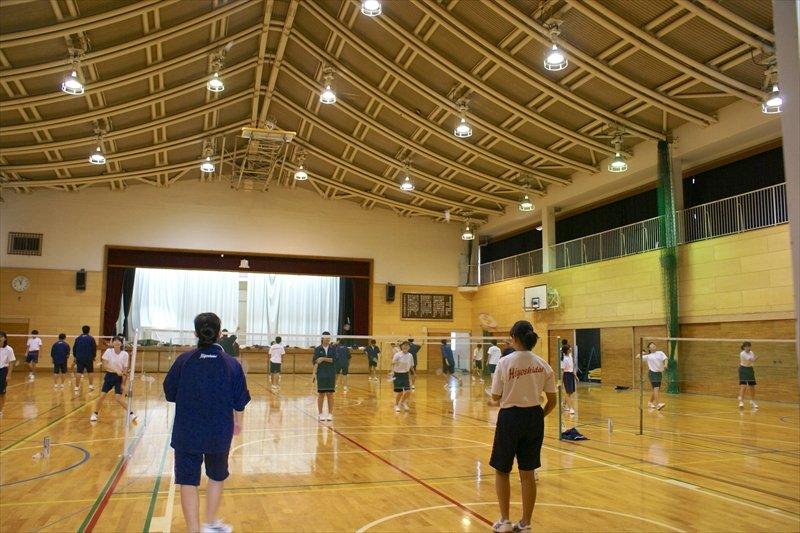 大きな体育館