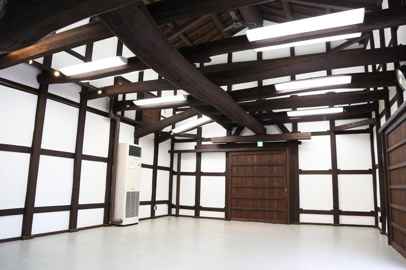 ▲二階も利用可能な広いスペースを有する南蔵