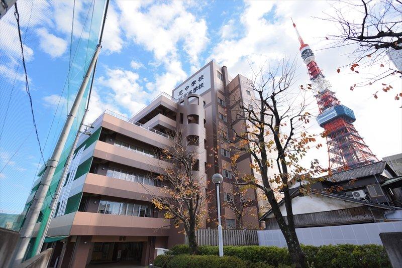 東京タワーを借景に