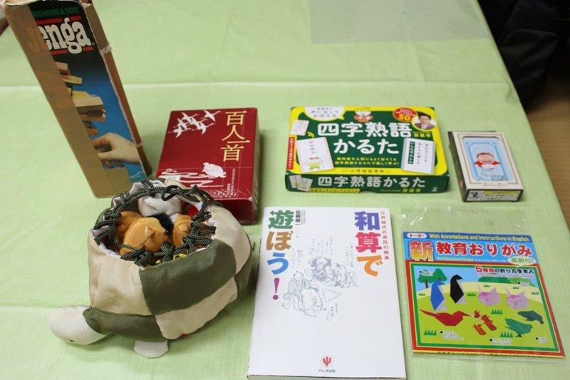 大勢で遊べる知育玩具も用意されている