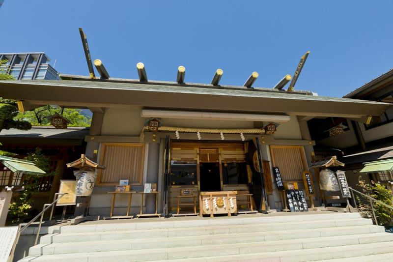 芝大神宮本殿
