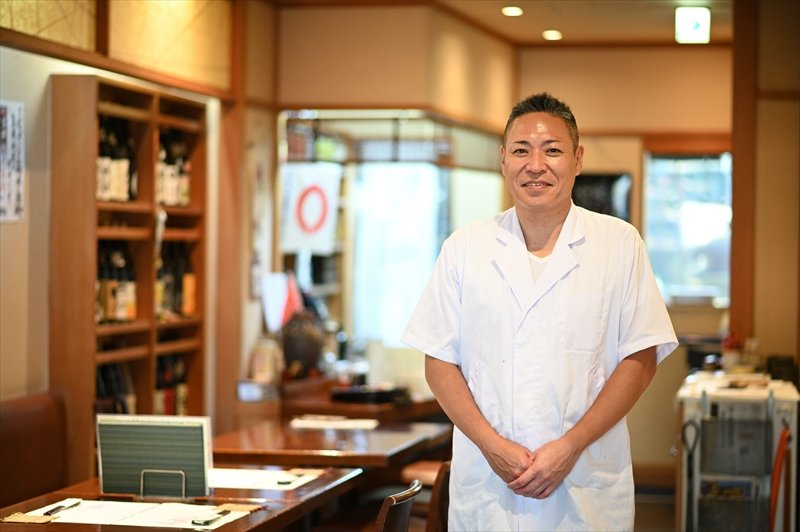 国分寺駅南口商店会 会長/日本料理天松 店主 松本栄作さん