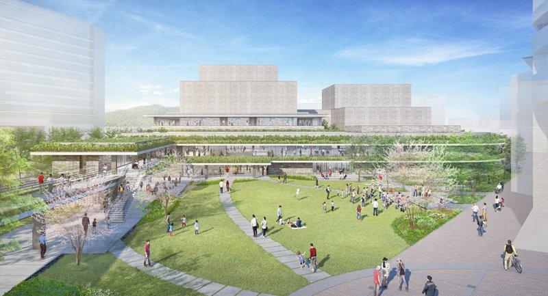 「枚方市総合文化芸術センター」完成予想パース