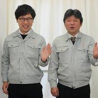 枚方市役所 友田成彦さん、荘司匡岐さん