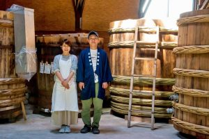 甲府味噌を醸造する「五味醤油」