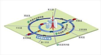 中央環状品川線計画図