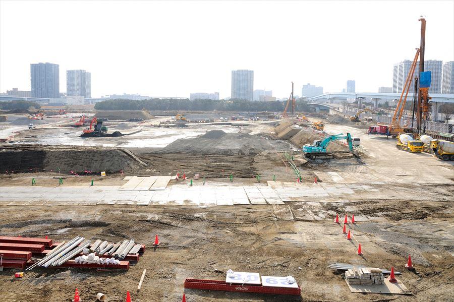 豊洲新市場建設工事