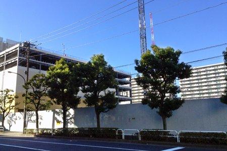 「公務員宿舎勝島町住宅(仮称)」の建設予定地