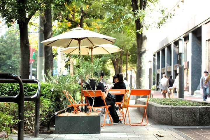 グリーン大通りオープンカフェ