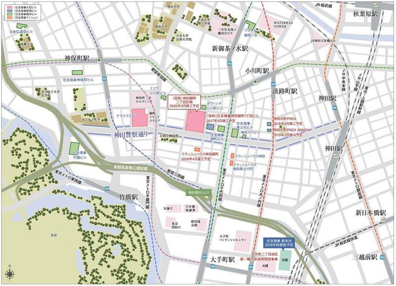 神田エリア地図