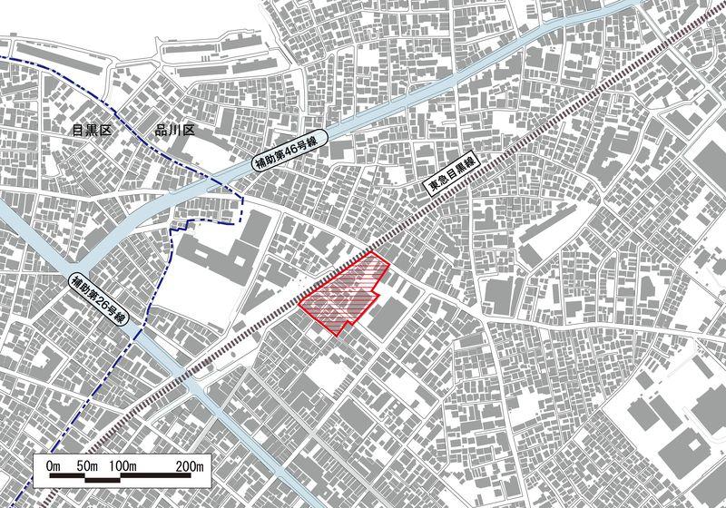 武蔵小山駅前通り地区市街地再開発