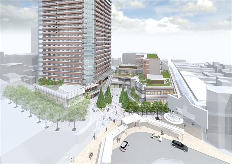 品川区の西の玄関として、近代的な街へ生まれ変わる「武蔵小山」駅周辺の3つの再開発事業を紹介!