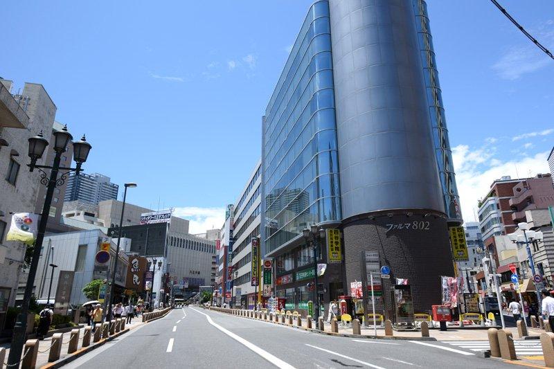JR「八王子」駅と「京王八王子」駅をつなぐアイロード