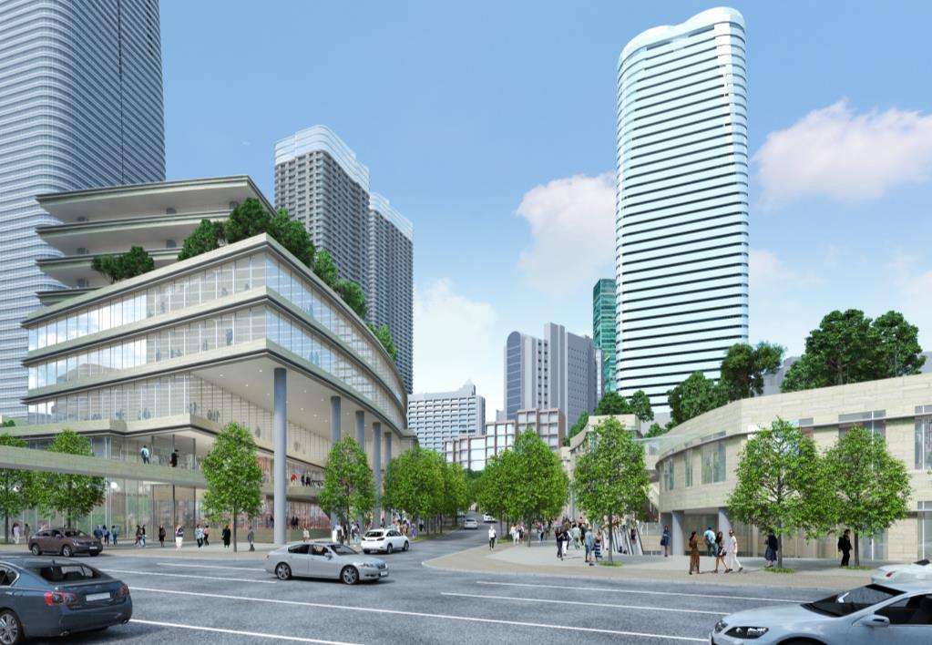 桜田通り沿道のイメージ