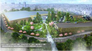 ワーナー ブラザース スタジオツアー東京 ‐メイキング・オブ ハリー・ポッター 緑化計画イメージ図